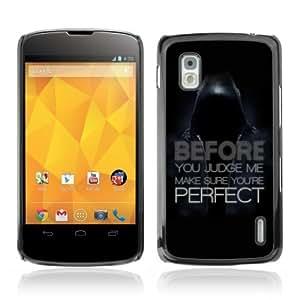 YOYOSHOP [Deep Message ] LG Google Nexus 4 Case