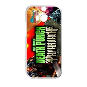 HTC One M8 Csaes Cell Phone Case Five Finger Death Punch CBQG293409
