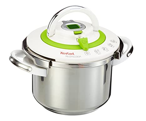Amazon.com: Tefal Nutricook olla de presión 6L temporizador ...