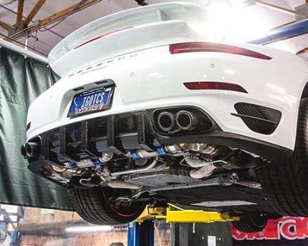 Amazon.com: Agency Power AP-991TT-178 Muffler(Satin Titanium Performance Racing Porsche 991 Turbo 2014+): Automotive