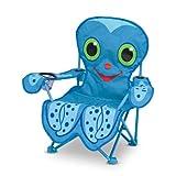 Melissa & Doug Sunny Patch Flex Octopus Folding Beach Chair for Kids