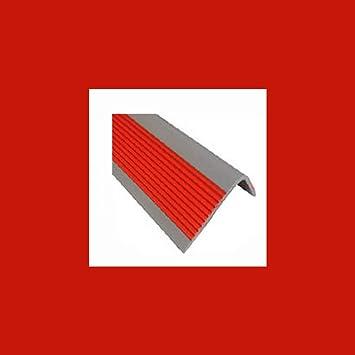 ZEYUE 5 Metros Pasos De Escalera Y Cinturón Antideslizante. Cinta Adhesiva Autoadhesiva. Adecuado Para Hospitales, Jardines De Infancia, Escaleras Escolares. (Rojo): Amazon.es: Bricolaje y herramientas