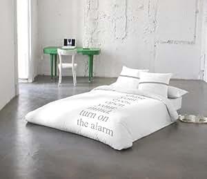 AMAYA ARZUAGA Juego Funda Nórdica ALARM cama 150