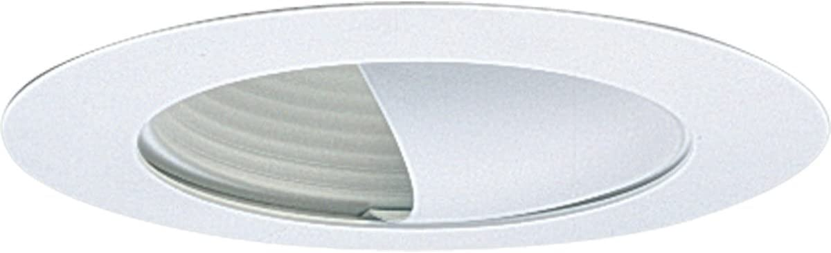Progress Lighting P8052-28 Transitional Wall Washer Trim Collection in White Finish, 7-3/4-Inch Diameter