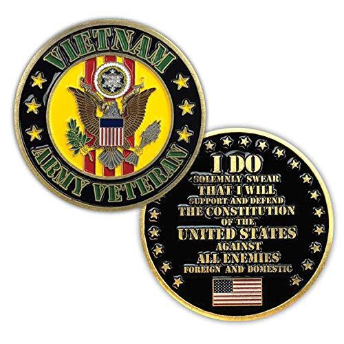 Vietnam Army Veteran Challenge Coin