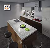 "Instant Granite Luna Pearl Counter Top Film 36"" x"