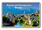 Mostar Bosnia and Herzegovina fridge magnet.!!!