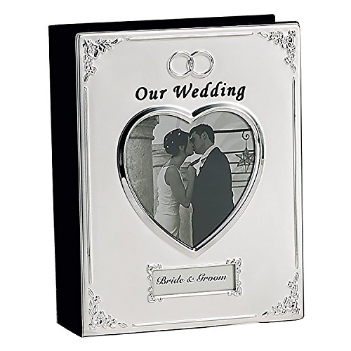 (SILVER PLATED WEDDING ALBUM - Photo)
