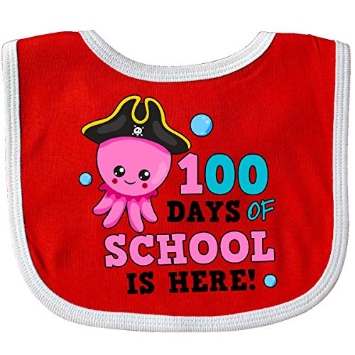 inktastic 100 Days of School is Here with Cute Octopus Toddler T-Shirt