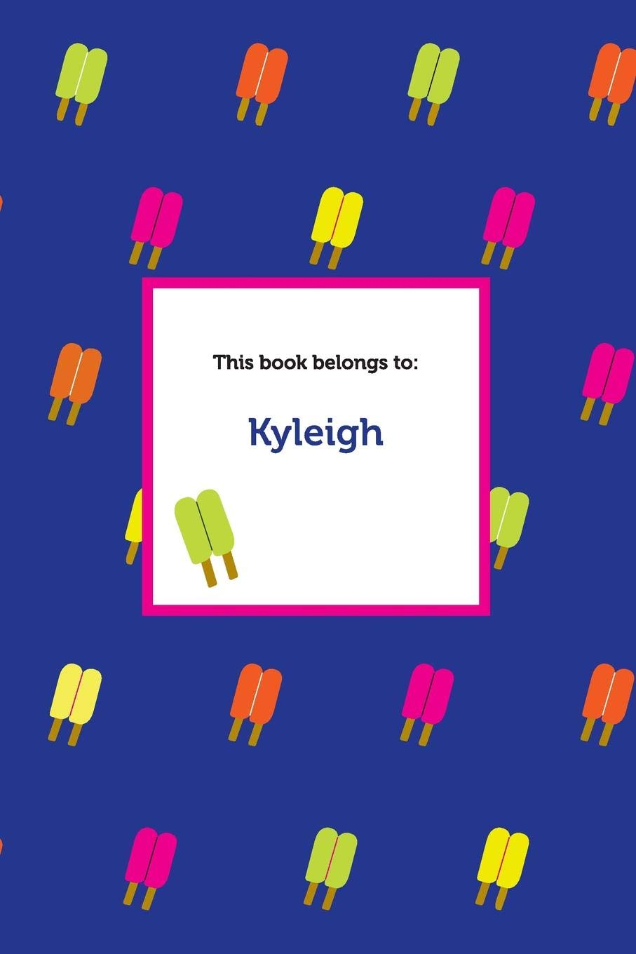 Download Etchbooks Kyleigh, Popsicle, College Rule pdf epub
