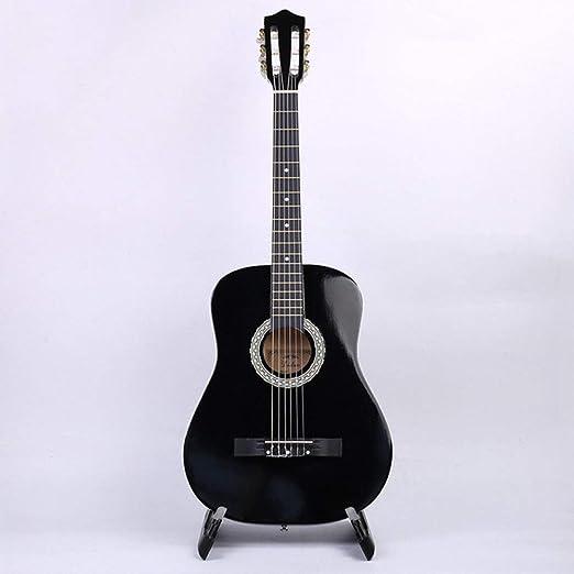 LOIKHGV Guitarras- Guitarra 38 Guitarra clásica 6 Cuerdas 4 ...