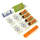 Zig-Zag White Original Single Wide Rolling Papers Enhanced Bundle with Rolling Machine, Tips, Doob Tube and Dank Paper Scoop Card