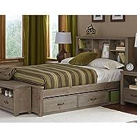 Rosebery Kids Full Storage Bed in Driftwood