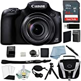 Canon Powershot SX60 HS Bundle + Canon SX60 HS Deluxe Accessory Kit - Including EVERYTHING You Need To Get Started