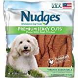 Nudges Premium Jerky Cuts With Chicken, Bone & Joint Dog Treats, 10 Ounce