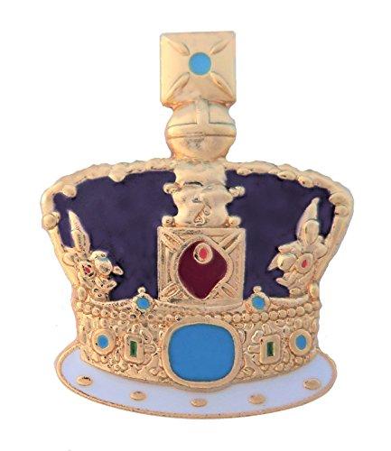 United Kingdom UK St Edward's Crown Pin Badge