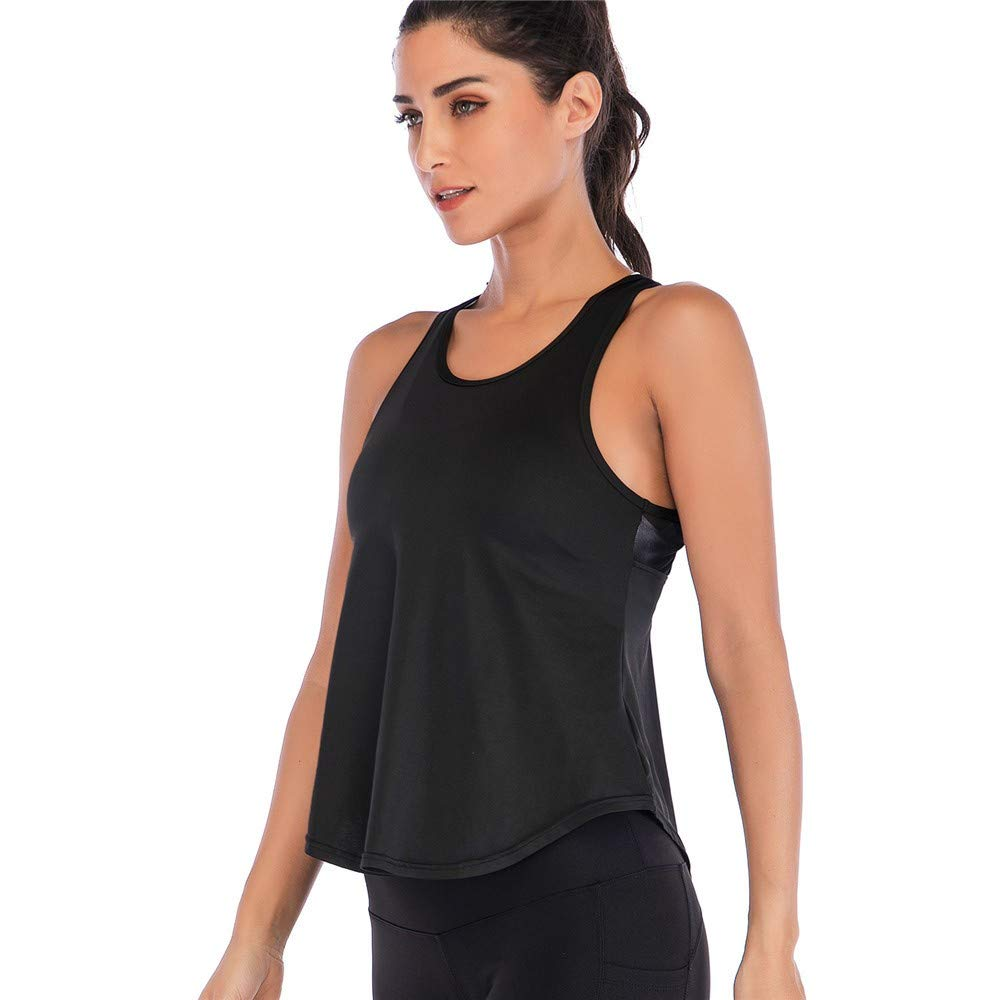 Psanfeng Mujeres Yoga Fitness Chaqueta Deportes al Aire ...