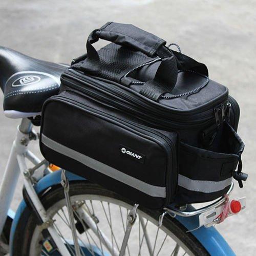 Maxpro Giant Cycling Bicycle Bike Rear Rack Bag Extending Top Plus