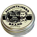 Heavy-Duty Beard Balm by Mountaineer Brand: Original Beard Tamer and Leave-in Conditioner, 2 oz Tin