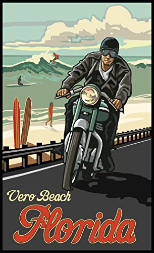 Northwest Art Mall PAL-5825 MRSW Vero Beach Florida Print by Artist Paul A. Lanquist, 11