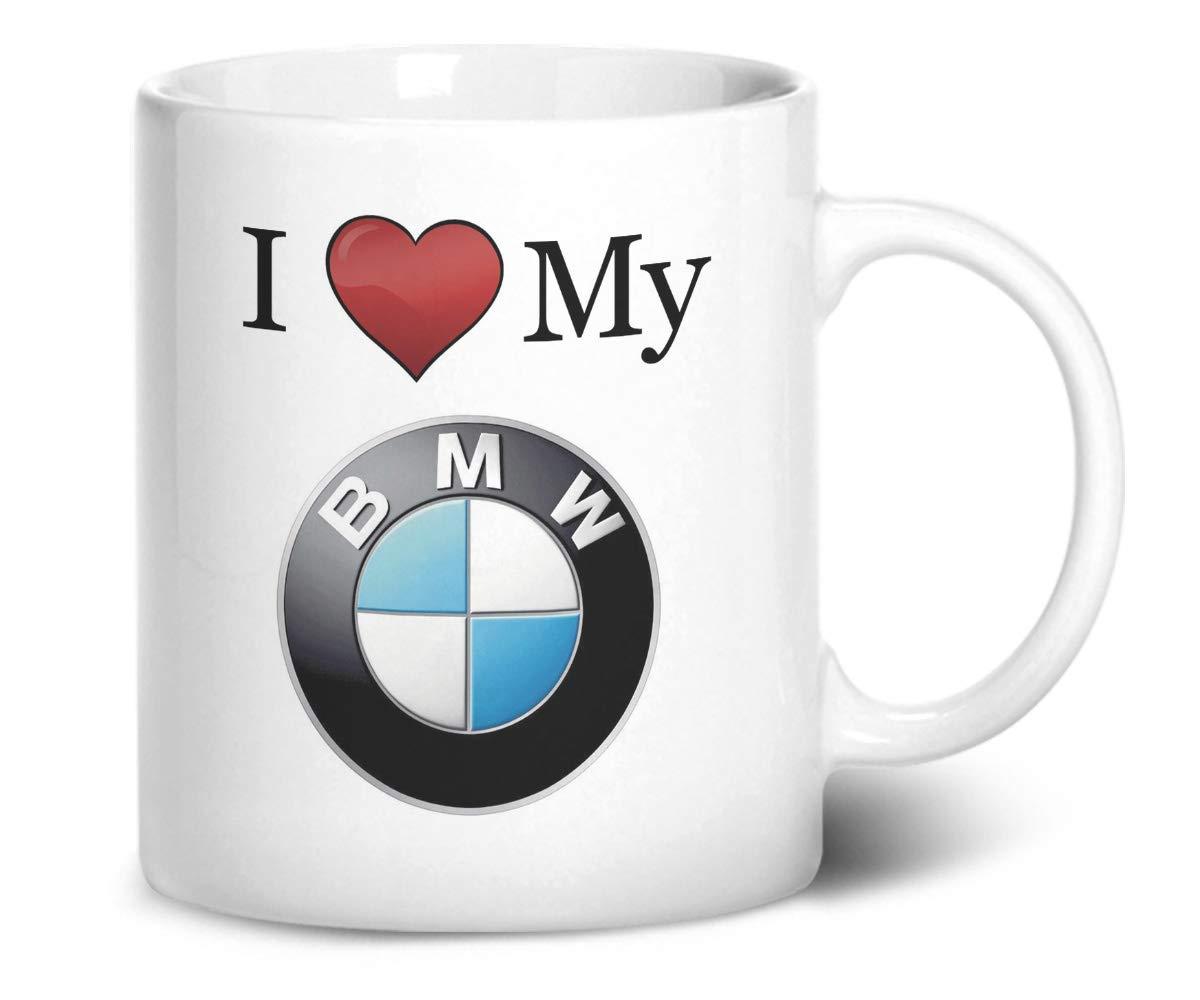 """ideales Geschenk mit /""""I Love My BMW/"""" bedruckt Tasse"""