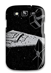 ZLjupSm1682BJFVw Case Cover Artistic Tie Squadron With Star Destroyer Galaxy S3 Protective Case