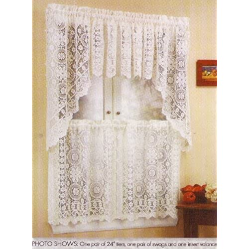 Kitchen Curtains From Amazon: Lace Kitchen Curtains: Amazon.com