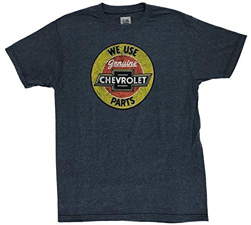 Chevrolet Biscayne Engine - We Use Genuine Chevrolet Parts T-Shirt (Medium)