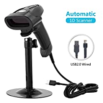 NETUM Portable Barcode Scanner Reader Automatic Laser Bar Code Hands Free USB Plug and Play for Supermarket POS System RD-1330