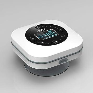 qiyan Altavoz Bluetooth inalámbrico Sintonizador Impermeable Ducha ...