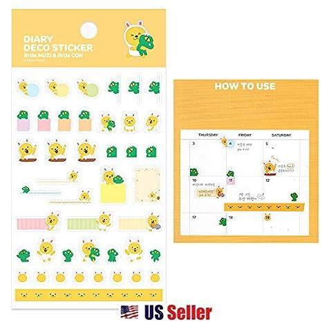 Amazon.com: Kakao Talk Kakao Friends Emoji - Pegatinas ...