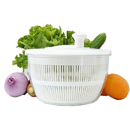 Ensalada Spinner Frutas Vegetales Lavadora Manual Lettuce Secador ...
