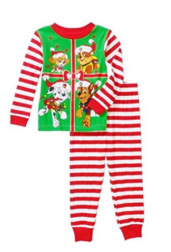 Ame Paw Patrol Little Boys Toddler Christmas Cotton Pajam...