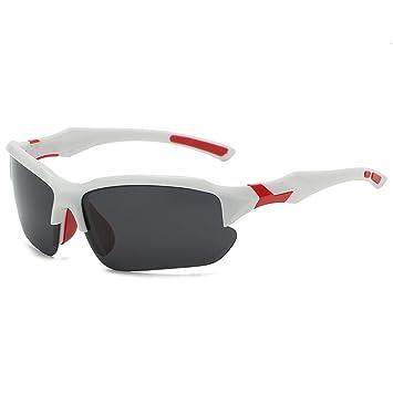 Gafas Polarizadas Deporte Bici Anti UV400 Gafas para Correr Running Antivaho Intercambiables Adaptadas También A Ciclismo