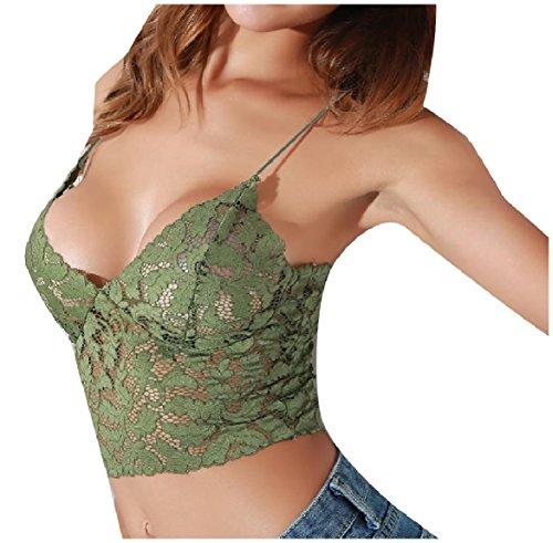 薬を飲む不可能なメロドラマVITryst Women Lace Stiching Tube V-Neck Pure Colour Tank Top Vest Blouse