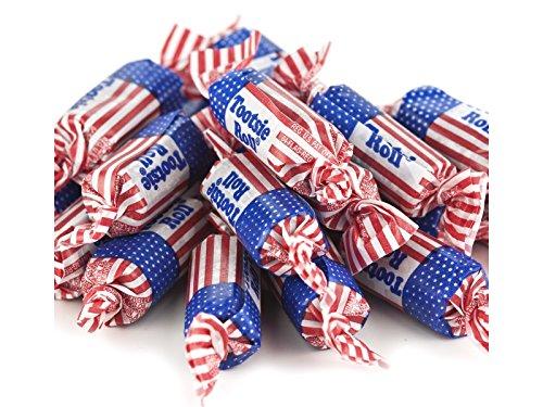 Tootsie Rolls Flag (Patriotic Tootsie Rolls 5 pounds Flag Tootsie Rolls bulk candy)