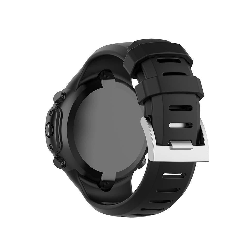 Amazon.com: MANGKE - Sports Watch Soft Silicone Strap Wrist ...