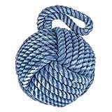 Nautical Knot Door Stopper - Blue