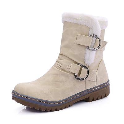 100% de satisfaction divers design meilleur site web Femmes Chaussures De Neige Hiver Bottes de Neige Filles ...