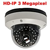 GW Security H.265 4 Megapixel 2592 x 1520P HD IP PoE 2.8-12mm Varifocal Zoom Onvif Weatherproof Network Dome Security Camera, 35x IR LEDs Up to 100Ft IR Distance