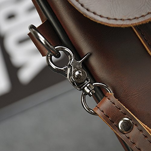 hombro al marrón Marrón hombre Bolso para NUBEN EUnwf5x7qF
