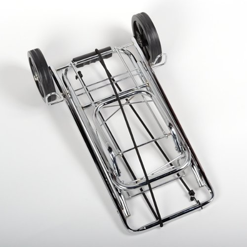 Metal Rolling Luggage Cart,Folding Storable Luggage Roller ATEpro Luggage Cart