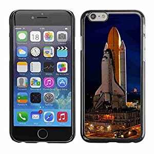 """Shell-Star ( Cape Canaveral Space Ship Launch ) Snap On Hard Protective Case For 4.7"""" iPhone 6"""
