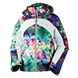 Obermeyer Kids Girl's Tabor Print Jacket (Little Kids/Big Kids) Fractal Floral Large