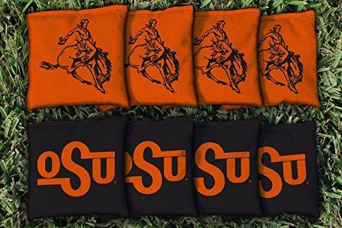 - 8 College Vault Oklahoma State University Cowboys Regulation Corn Filled Cornhole Bags