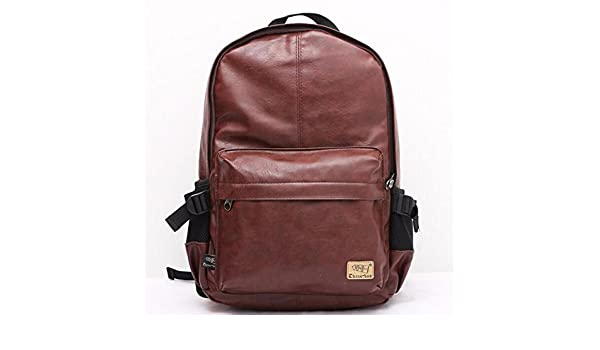 Mochila backpack mens travel bags men rucksack school bags leather backpacks teenage LM0330 | Kids Backpacks