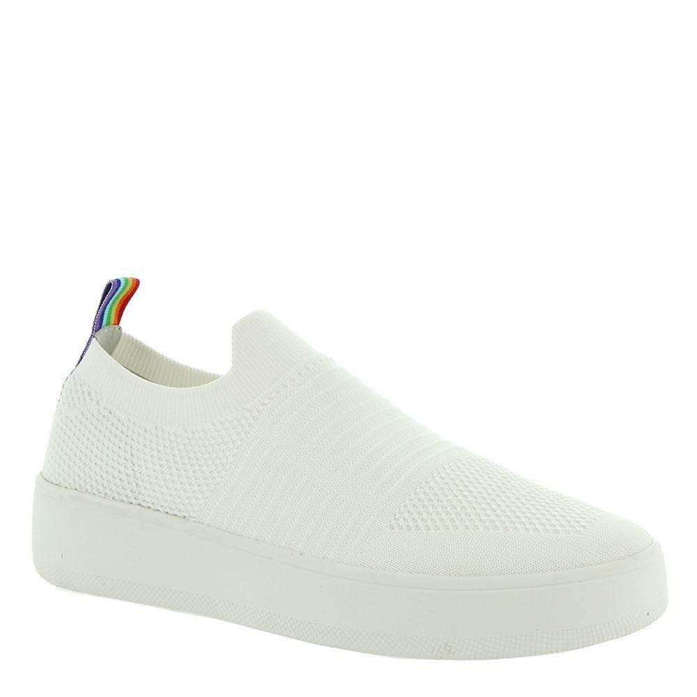 White Steve Madden Womens Beale Sneaker