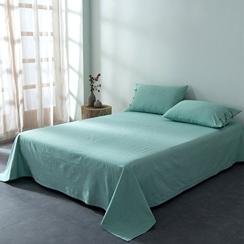 Soft Hypoallergenic Bed Sheets,Old Coarse Cloth Coverlet Stain Resistant  Simple For All Seasons King