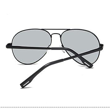 Douerye Gafas de Sol polarizadas fotocromáticas para Hombre con Espejo UV