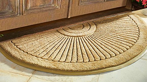 Sunburst Coir Brush Doormat 36